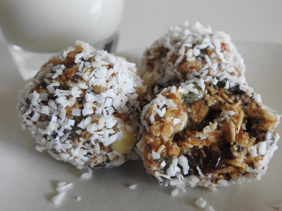 No-Bake Protein Balls