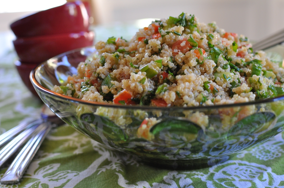 Tabbouleh Style Quinoa Salad